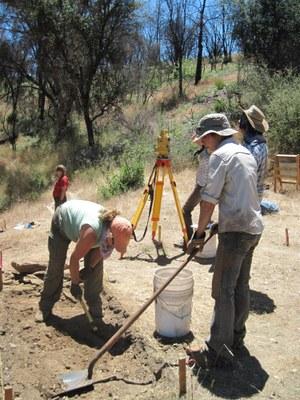 Excavation at CA-MRP-1993
