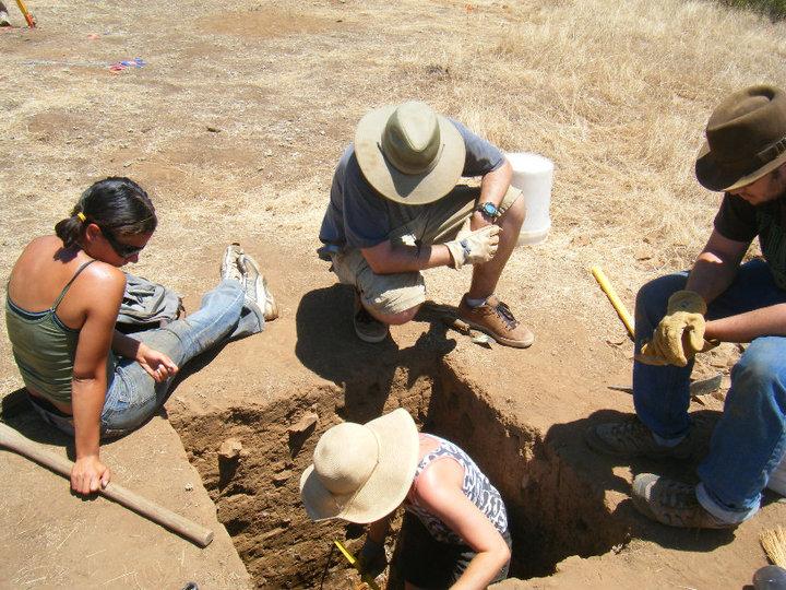 Excavation at CA-MRP-1881