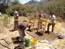 Excavation at Longhorn