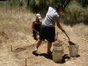 Beginning Excavation at CA-MRP-1993