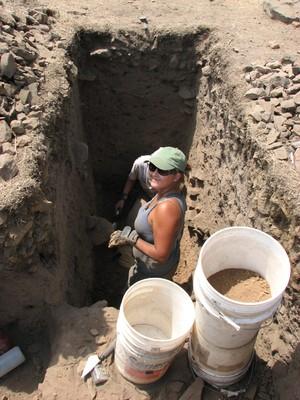 Excavation at CA-MRP-1989