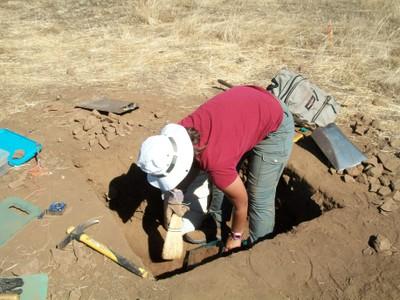 Christine Excavates at CA-MRP-1881