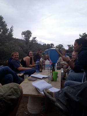 Camp Life, creative writing and inside jokes edition.