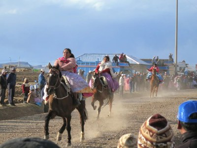 A weekend visit to a horse race at the village of Chijichaya.