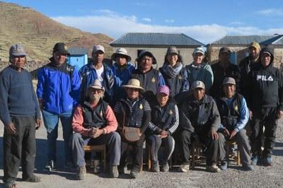 The 2018 field crew at Mulla Fasiri.