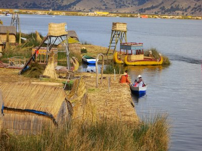 The Uros Islands look like this.